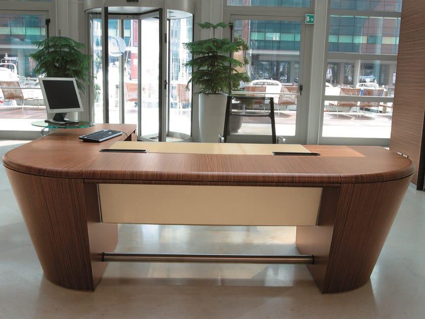 L-shaped sectional office desk 16GRADI | L-shaped office desk by ARTOM by Ultom