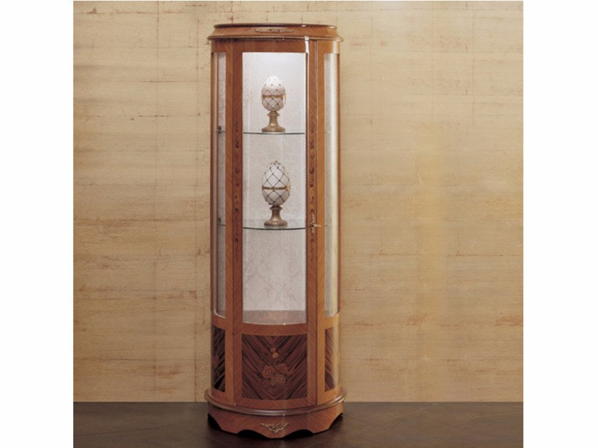 Wooden display cabinet 170 | Display cabinet - Rozzoni Mobili d'Arte