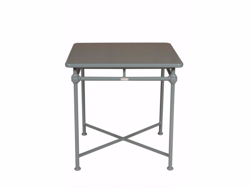 Square aluminium garden table 1800 | Square table - Tectona