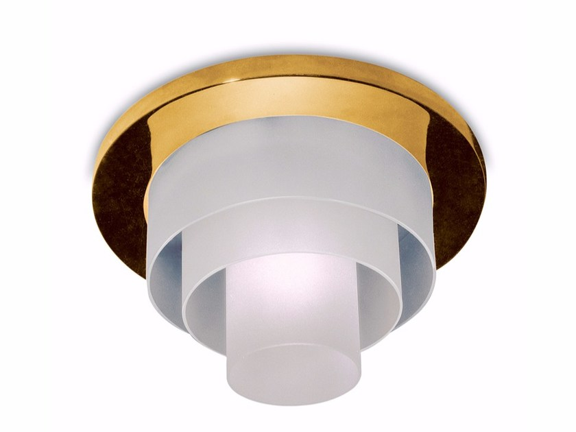 Direct light glass ceiling light 182 E | Ceiling light - Jean Perzel
