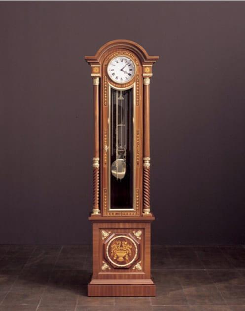 Pendulum wooden clock 182 | Clock by Rozzoni