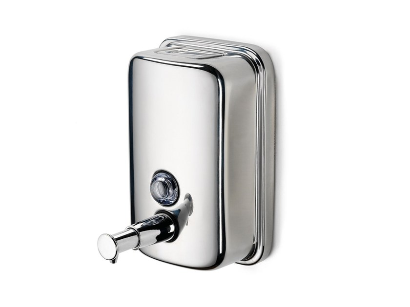 Wall-mounted stainless steel liquid soap dispenser 182237 | Soap dispenser wall-mounting - THPG