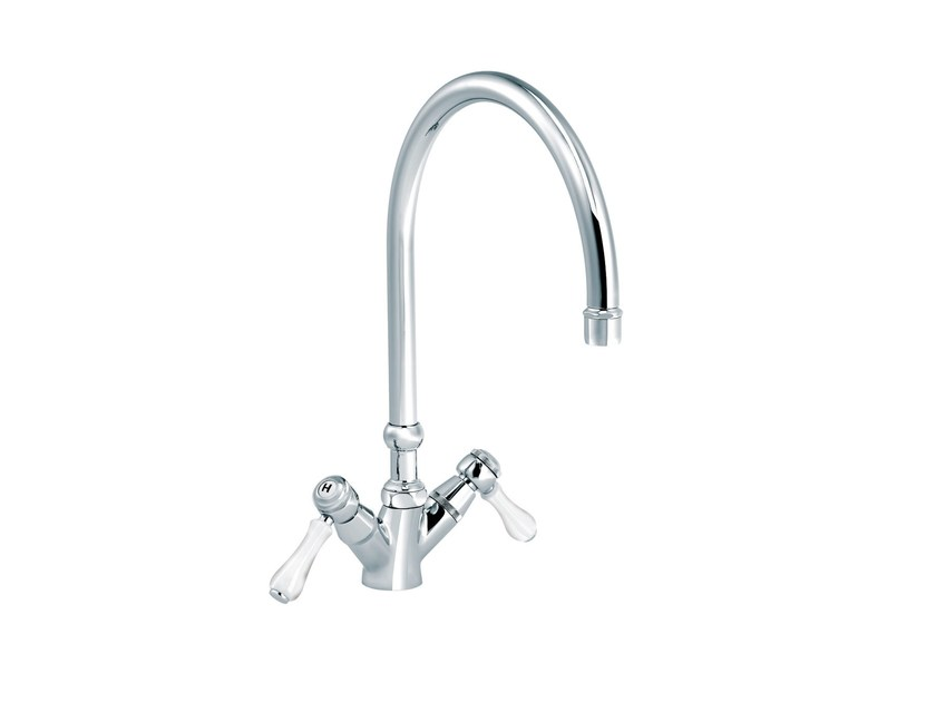 Countertop 1 hole kitchen mixer tap 1935 LIMOGES | Countertop kitchen mixer tap - rvb