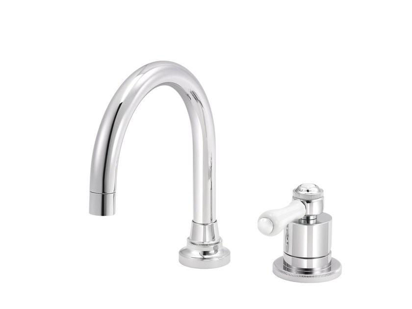 2 hole countertop single handle washbasin mixer 1935 LIMOGES | Single handle washbasin mixer - rvb