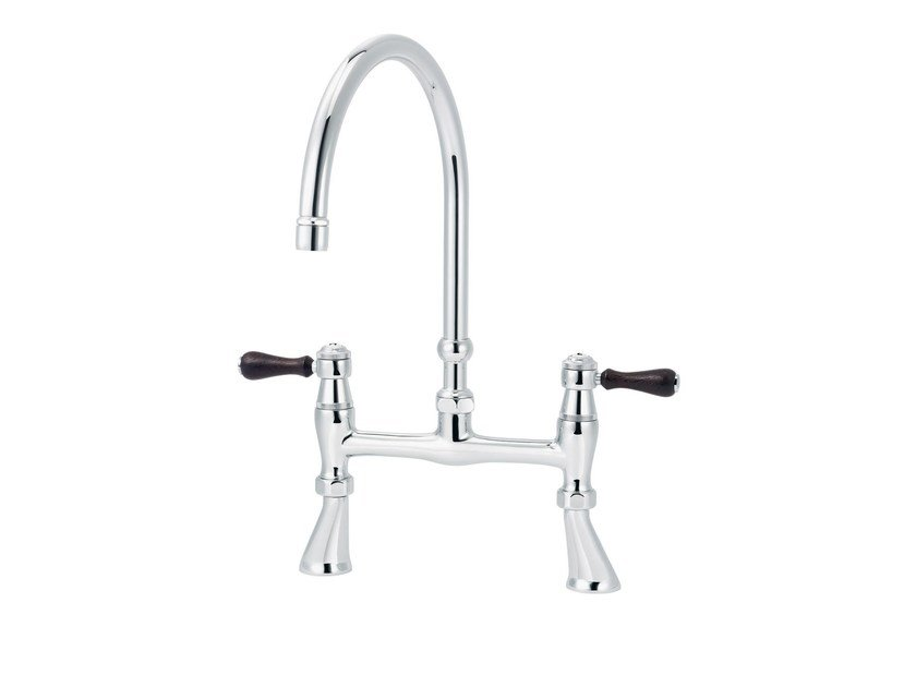 2 hole countertop kitchen mixer tap 1935 WOOD | Kitchen mixer tap - rvb