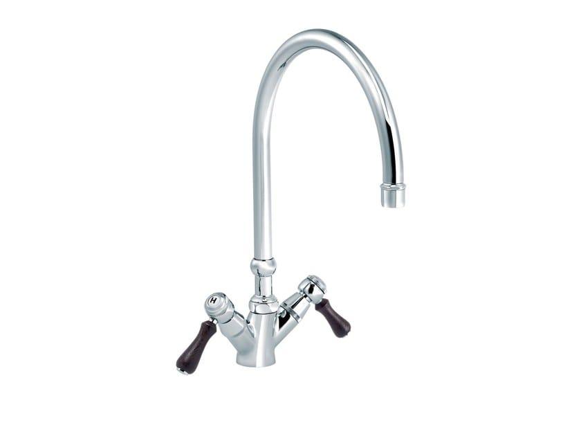 Countertop 1 hole kitchen mixer tap 1935 WOOD | Countertop kitchen mixer tap by rvb