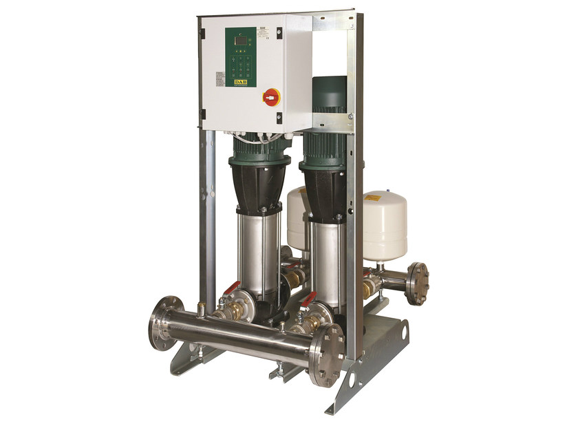 Set with 1/2/3 vertical multistage centrifugal pumps 2/3/4 NKVE - Dab Pumps