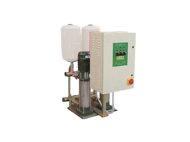 Set with 2-3 multistage centrifugal pumps on a vertical axis 2/3 KVE 3-6-10 by Dab Pumps