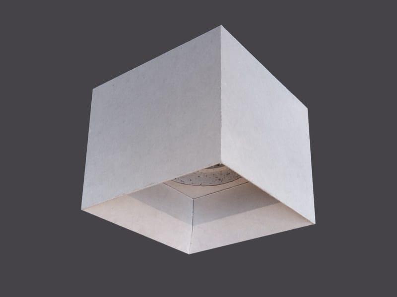 Spotlight housing in plasterboard SINGLE LED CUBES 135° - Gyps