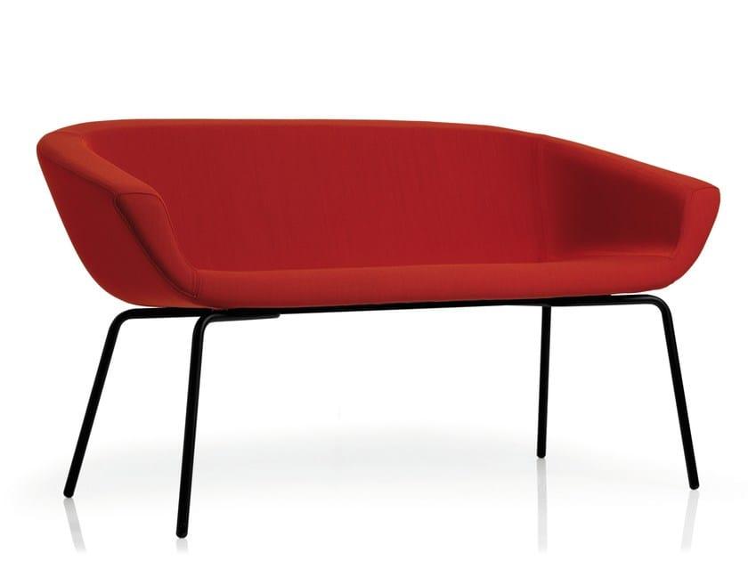2 seater sofa SKYLINE | 2 seater sofa by Emmegi