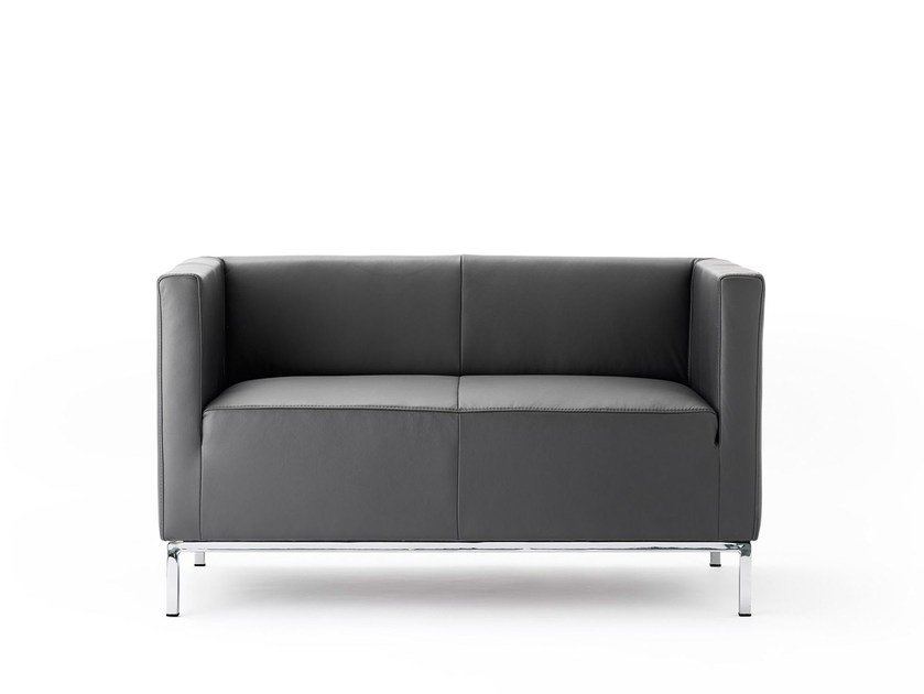 2 seater leather sofa ULTIMO | 2 seater sofa by rosconi