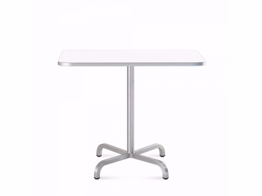 Square aluminium table 20-06™ | Aluminium table - Emeco