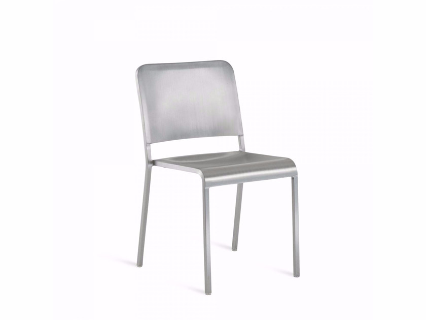 Stackable aluminium chair 20-06™ | Chair - Emeco