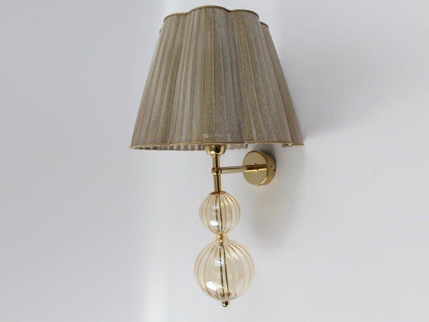 Handmade blown glass wall light 2001 | Blown glass wall light by Ipsilon PARALUMI