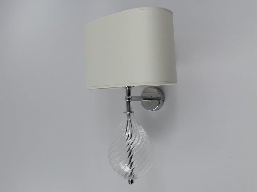 Handmade blown glass wall light 2002 | Blown glass wall light - Ipsilon PARALUMI