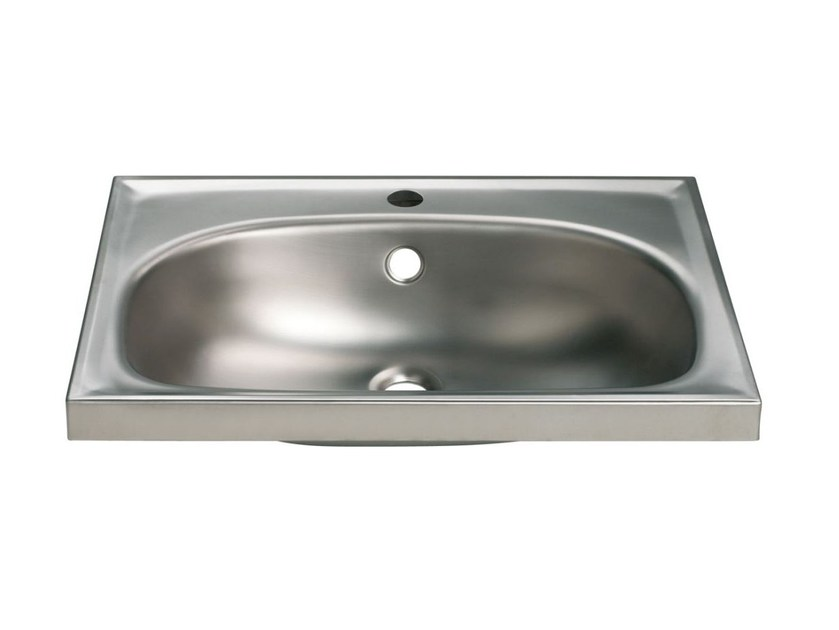 Lavabo ovale singolo in acciaio inox 2012 | Lavabo - Saniline by Thermomat