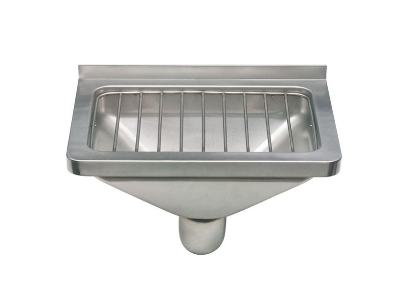 Stainless steel washbasin for disabled 2030 | Washbasin for disabled - Saniline by Thermomat