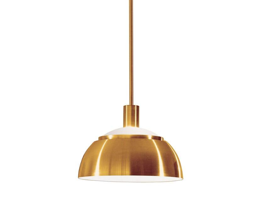 Lampada a sospensione a luce diretta in metallo 2043 | Lampada a sospensione by Jean Perzel