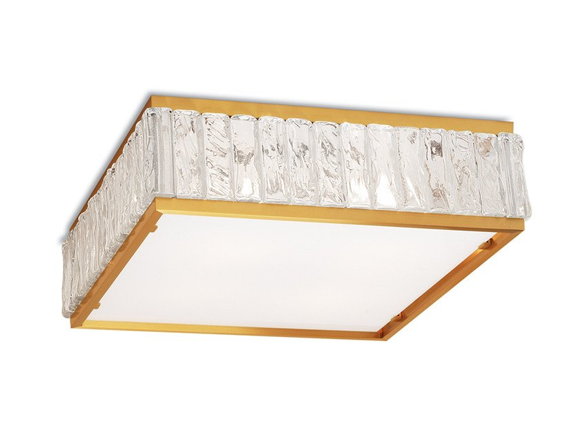 Direct light glass ceiling light 2060 | Ceiling light - Jean Perzel