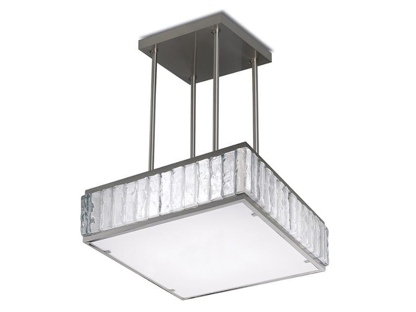 Direct light glass pendant lamp 2060 A S | Pendant lamp by Jean Perzel