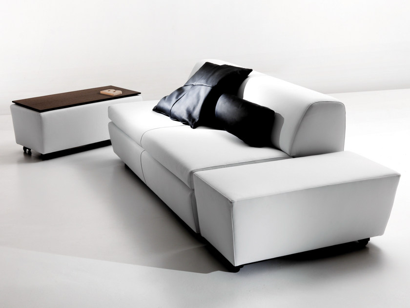 Leather sofa bed 2105 NEW TANK | Leather sofa bed - Vibieffe
