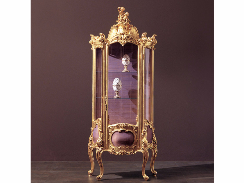 Gold leaf display cabinet 215 | Display cabinet by Rozzoni