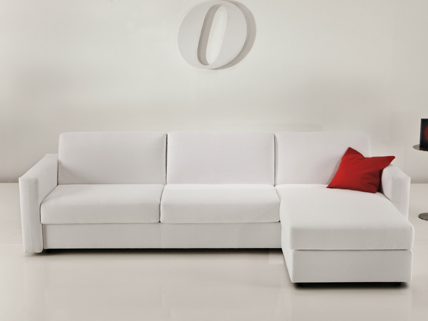Sofa bed with chaise longue 2200 SQUADROLETTO | Sofa bed with chaise longue - Vibieffe