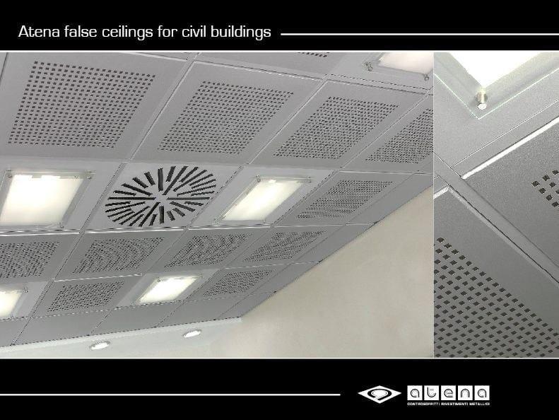 Ceiling tiles 24 LINEAR TEGULAR - ATENA