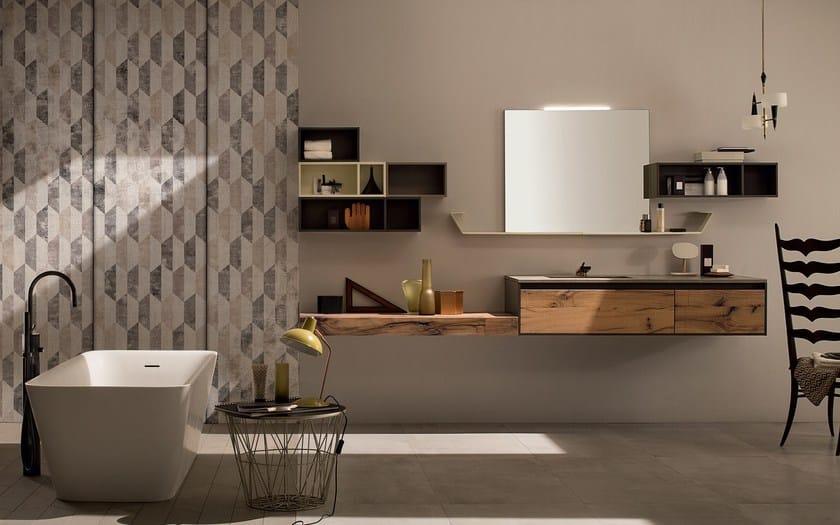 Arredo bagno completo in ceramica 24 quercia rab arredobagno - Rab arredo bagno ...