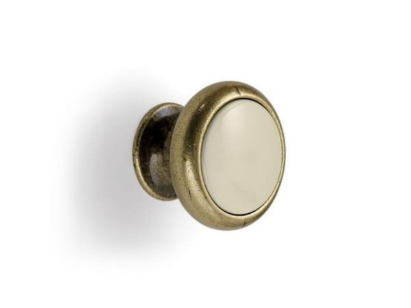 Pomello per mobili in Zamak e nylon in stile classico 24043 | Pomello per mobili - Cosma