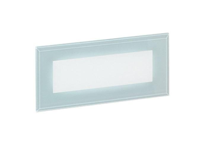 LED wall-mounted outdoor aluminium steplight 241/G - NOBILE ITALIA