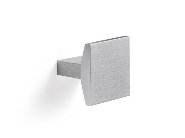 Aluminium and zamak furniture knob 24102 | Furniture knob - Cosma