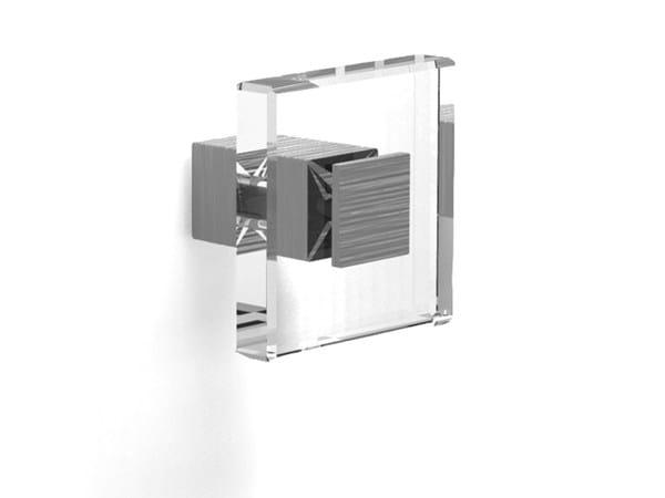Pomolo per mobili in Zamak e vetro 24133 | Pomello per mobili - Cosma
