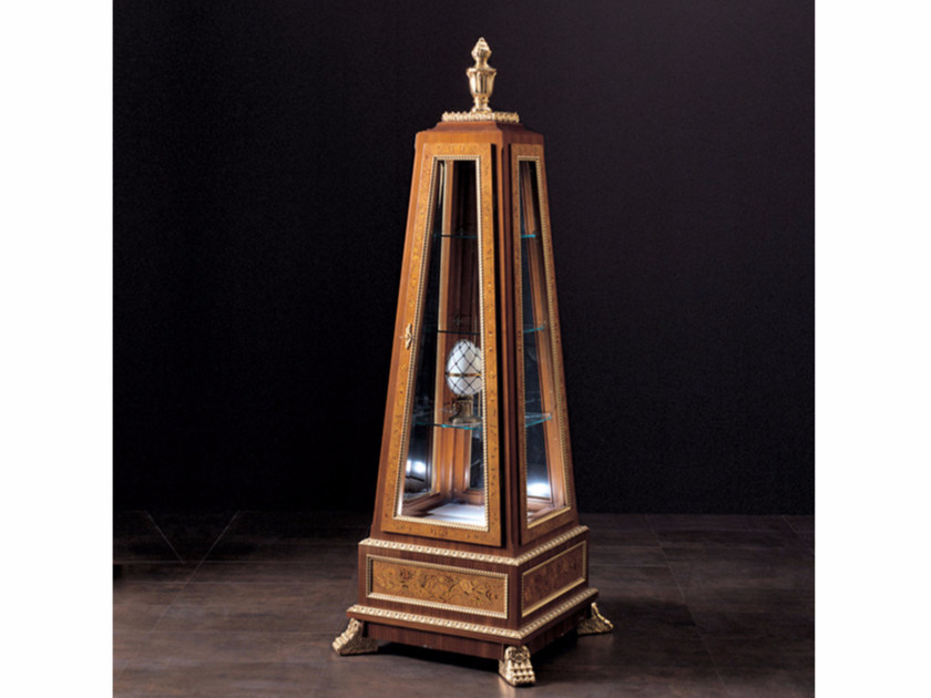Wooden display cabinet 244 | Display cabinet - Rozzoni Mobili d'Arte