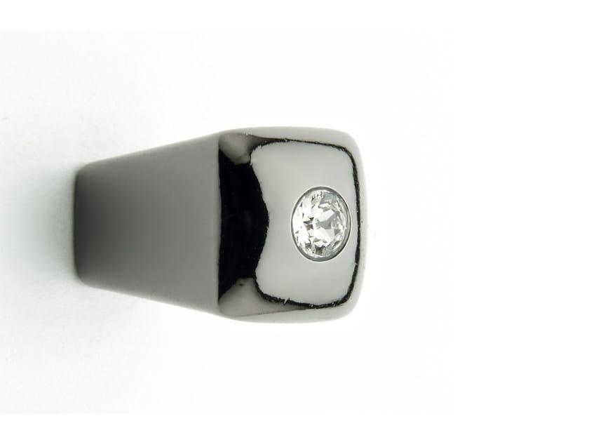 Pomello per mobili in Zamak con cristalli 25 687 | Pomello per mobili - Citterio Giulio