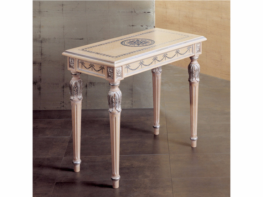 Rectangular wooden coffee table 259 | Coffee table - Rozzoni Mobili d'Arte