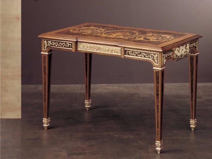 Rectangular wooden living room table 267 | Table - Rozzoni Mobili d'Arte