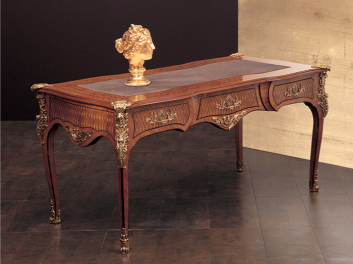 Rectangular writing desk with drawers 268 | Writing desk - Rozzoni Mobili d'Arte
