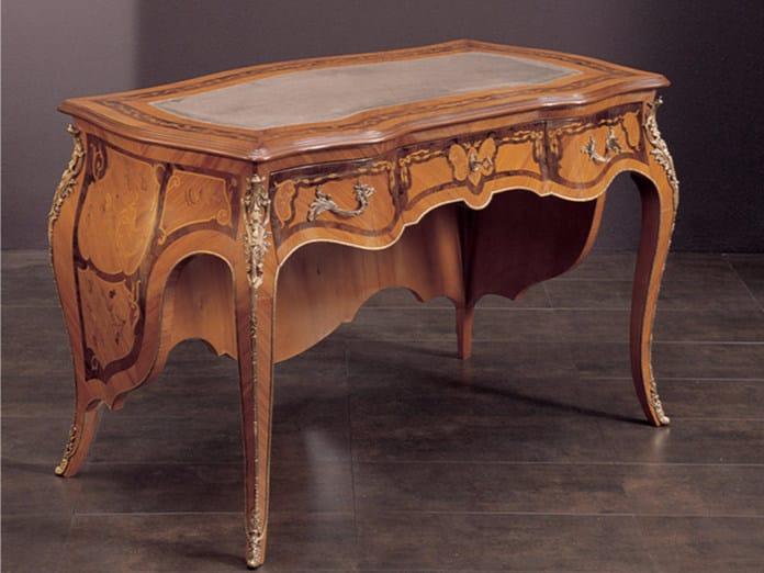 Rectangular writing desk with drawers 277 | Writing desk - Rozzoni Mobili d'Arte