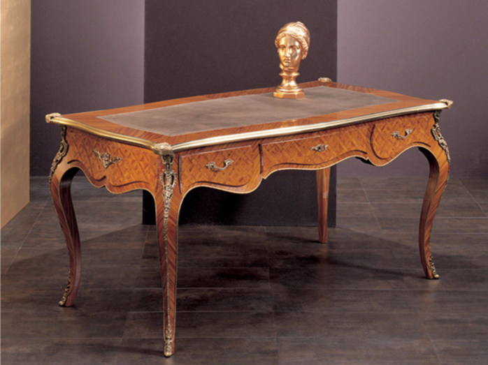 Rectangular writing desk with drawers 278 | Writing desk - Rozzoni Mobili d'Arte