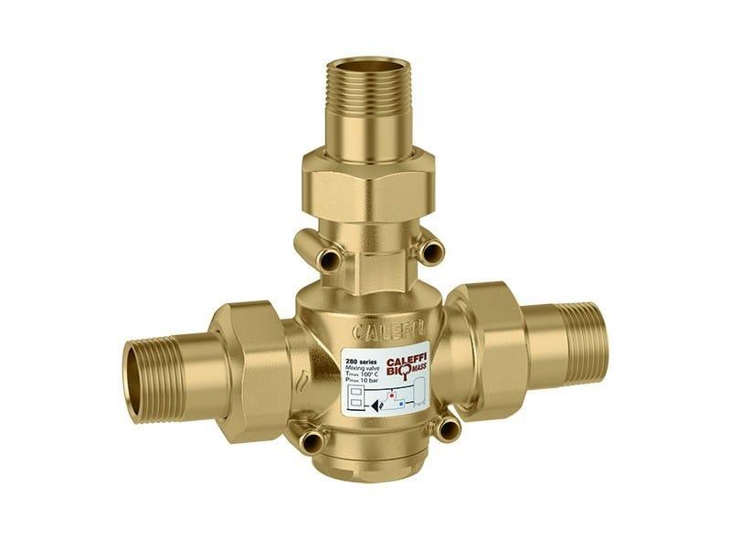 Valve, sluice, sluice gate for system 280 Anti-condensation valve - CALEFFI