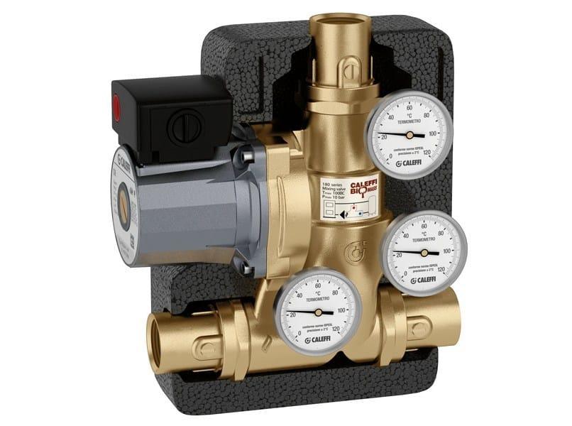 Zone module and collector 281 Anti-condensation unit - CALEFFI