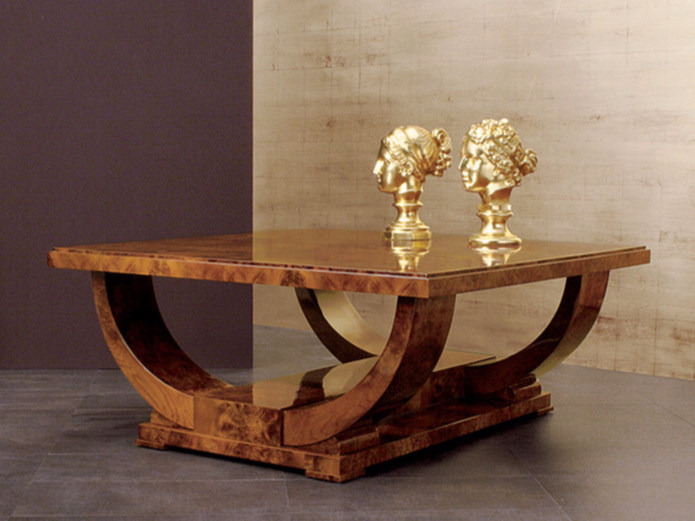 Low square coffee table for living room 282 | Coffee table - Rozzoni Mobili d'Arte
