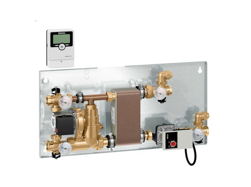 Zone module and collector 2850 Energy management unit - CALEFFI