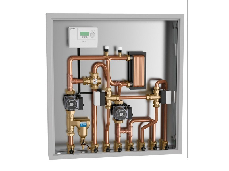 Modulo di zona e collettore 2853 gruppo di collegamento - Collettore idrico sanitario caleffi ...