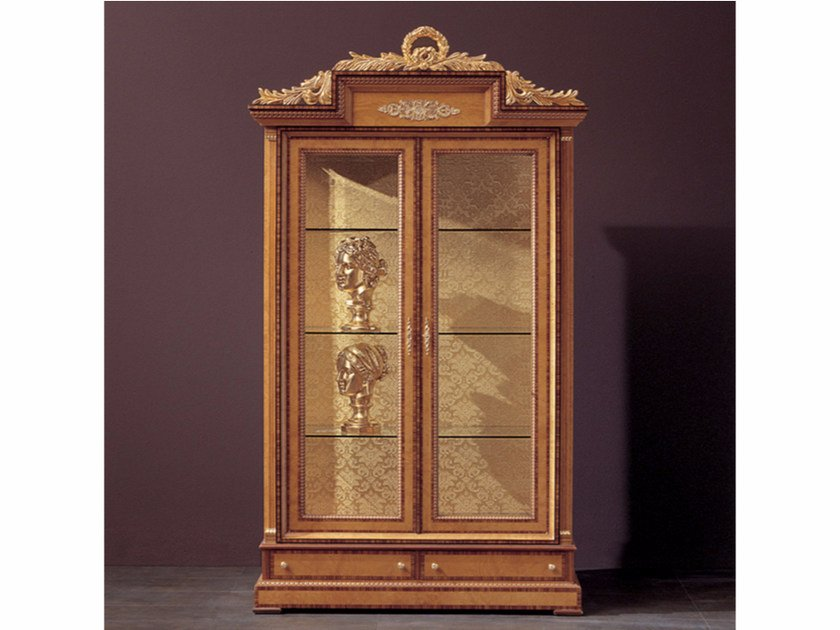 Wooden display cabinet 287 | Display cabinet - Rozzoni Mobili d'Arte