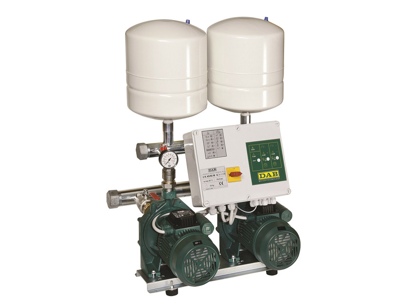Set with centrifugal pumps twin impeller 2K by Dab Pumps