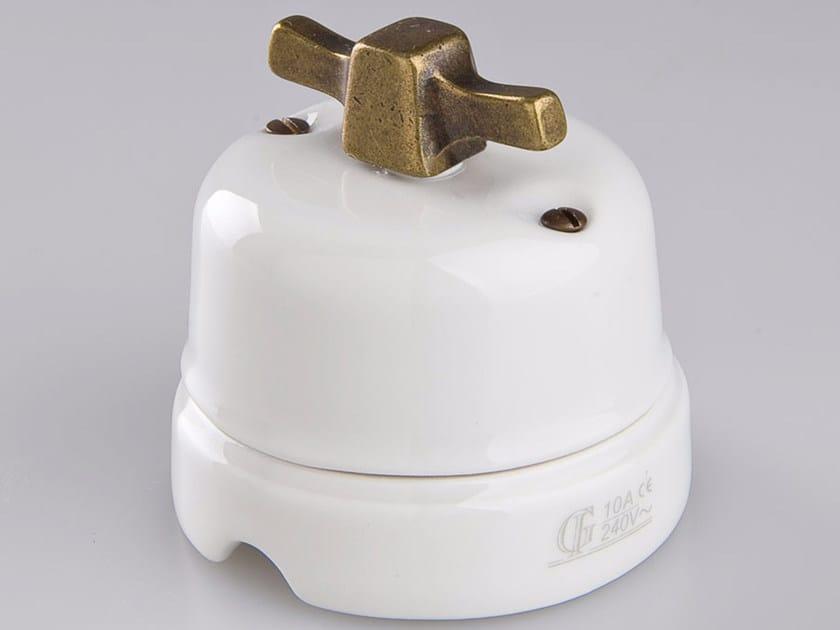 Electrical socket WHITE ITALY - 3 by GI Gambarelli