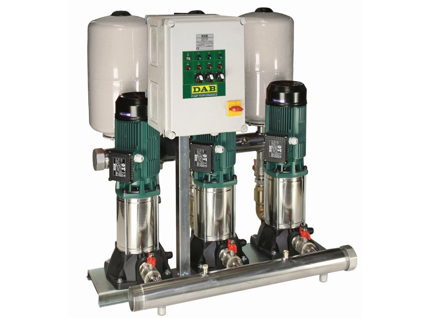 Set with 1/2/3 vertical multistage centrifugal pumps 3 KVC - Dab Pumps