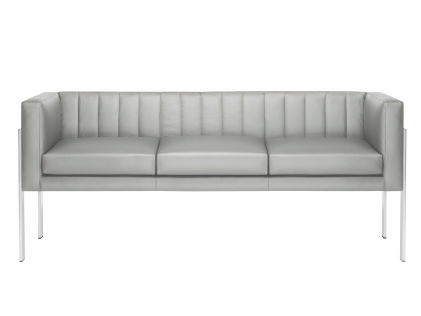 Upholstered 3 seater sofa YOU3 | 3 seater sofa by Luxy
